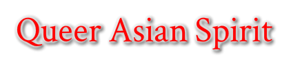 queer asian spirit logo